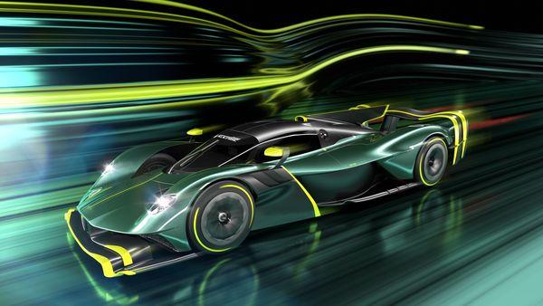 Aston Martin Valkyrie AMR Pro. (Aston Martin)