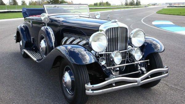 1935 Duesenberg Model JN Convertible sedan (Image credit: Bring A Trailer)