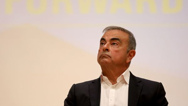 Ex-Nissan boss Carlos Ghosn was arrested in November 2018, and charged with financial misconduct. (REUTERS)