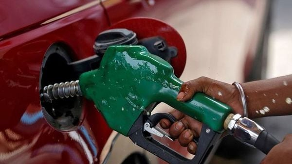 Ethanol blending in petrol is likely to reduce the overall price of the fuel which has shot beyond ₹100 per litre in several places across India. (File photo) (Reuters)