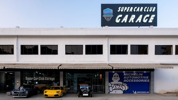 Super Car Club Garage was launched in November 2020.