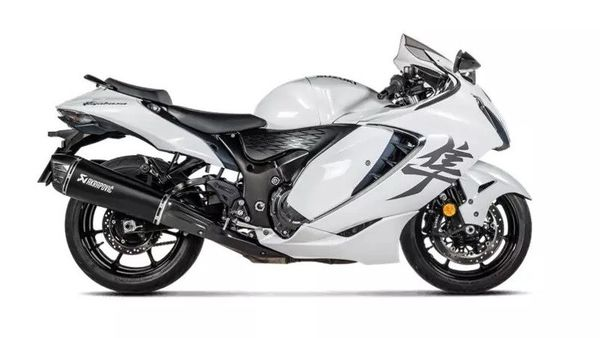 Akrapovic has previously launched a new slip-on exhaust for Hayabusa.