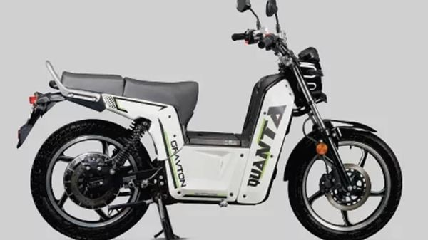 The Gravton Quanta electric scooter has a full charge range of 150km.