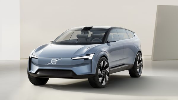 Volvo has unveiled a new Concept Recharge that hints at its upcoming electric-only XC90 SUV.
