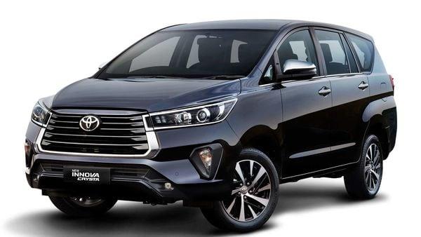 File photo of Toyota Innova Crysta.