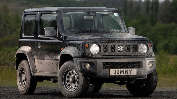 Suzuki Jimny has been reintroduced in UK in a two-seater commercial 4X4 avatar.