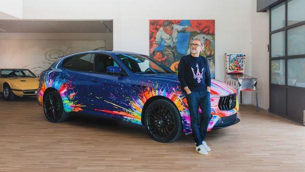 Maserati collaborates with Massimo Bottura, a famous chef of Italian cuisine and a Trident ambassador.