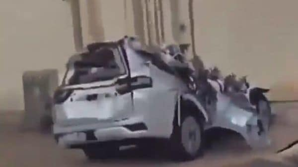 Screenshot from the video posted by kurdistan_automotive_blog_ on Instagram.