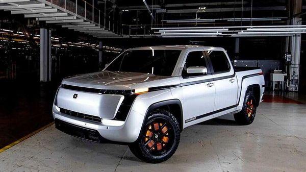 Lordstown Motors electric pickup truck. (File photo)