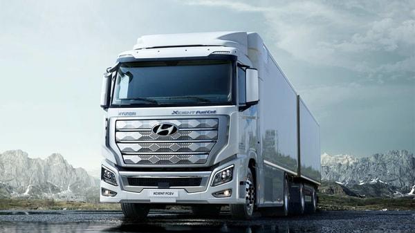 Hyundai Xcient fuel-cell heavy-duty truck