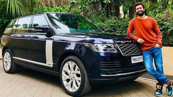 Vicky Kaushal poses with his newly bought Range Rover. (Photo: Instagram/Vicky Kaushal)