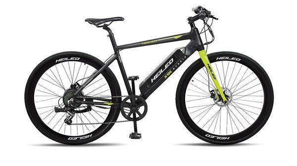 Heileo H100 electric bicycle. (Toutche)