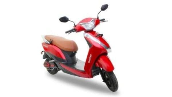 File photo of Ampere Magnus electric scooter.