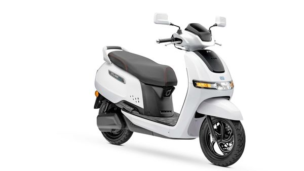 File photo: TVS iQube e-scooter