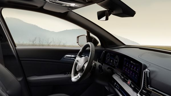 Kia stresses that there is 1,050 mm of legroom for passengers in the second row and 1,000 mm of headroom. The boot space figure stands at 637 litres which can be extended by folding the rear seats for flat-bed space.