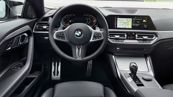 On the inside, there is an 8.8-inch digital touch screen control display, analog gauges with a 5.1-inch instrument display, Navigation, BMW Intelligent Personal Assistant, BMW Digital Key, Real Time Traffic Information, Connected Music and Remote Software Upgrades.