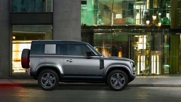 A look at Land Rover Defender 90 SUV.