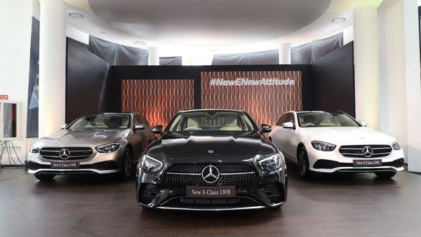 File photo of Mercedes-Benz E-Class LWB which was launched in India in March.