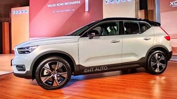 The Volvo XC40 Recharge has witnessed significant demand growth. (HT Auto photo)
