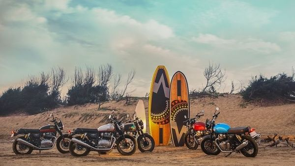 Both the new Royal Enfield 650 cc bikes are available with a host of new MiY options which will provide customers a choice to personalise their motorcycles according to their own taste and style.