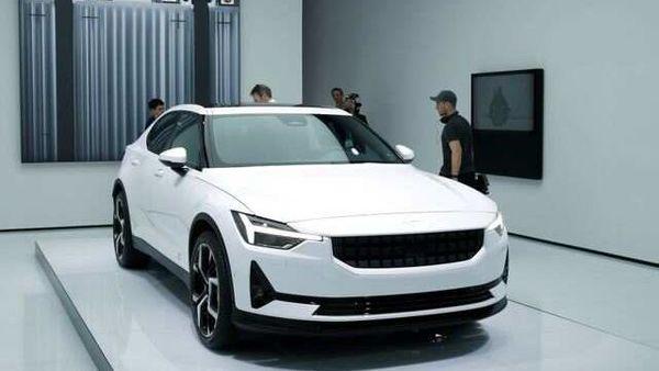File photo: Volvo Polestar 2 is displayed at the 89th Geneva International Motor Show in Geneva. (REUTERS)