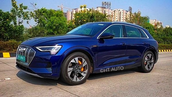 Audi e-tron is readying itself for a battle in the niche Indian luxury EV space. (HT Auto)