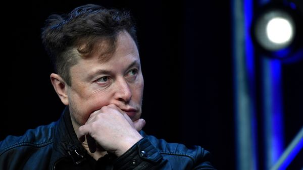 Elon Musk appeared before the court on Monday and will reappear on Tuesday. (AP)