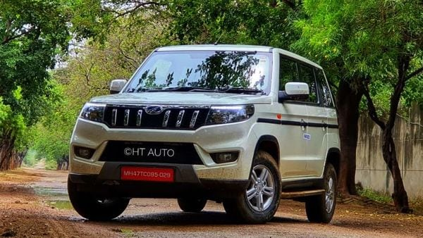 Bolero Neo seeks to offer the rugged character of Bolero and pair it with a more premium exterior and cabin look and feel. (HT Auto/Sabyasachi Dasgupta)