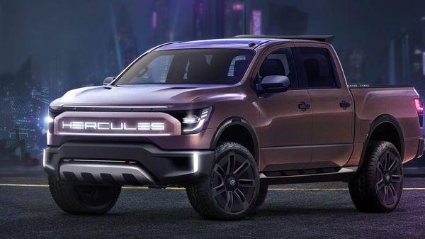 Hercules Alpha electric pickup (Hercules Electric Vehicles)