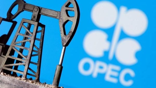 Brent crude was down 38 cents, or 0.5%, at $76.11 a barrel. (REUTERS)