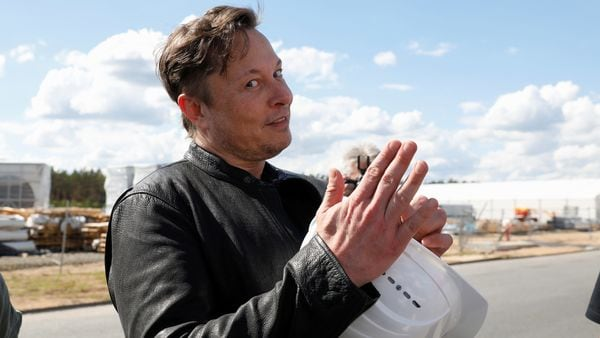 Musk finished about eight hours of testimony Tuesday about the 2016 takeover of SolarCity. (REUTERS)