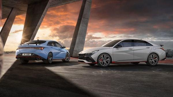 2022 Hyundai Elantra N sedan