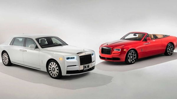 The new Rolls-Royce cars were delivered at a private ceremony in Orange County, California.