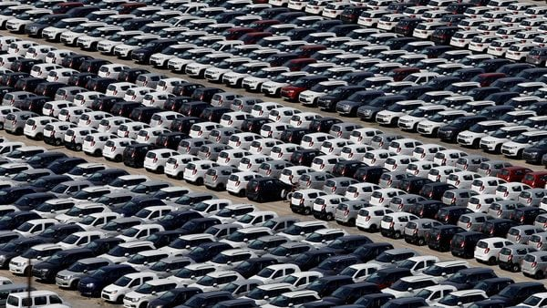 File photo: Cars are seen parked at Maruti Suzuki's plant at Manesar. (REUTERS)