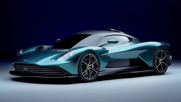The Aston Martin Valhalla appears as a stunning and sleek supercar with some Formula One-inspired dynamics.
