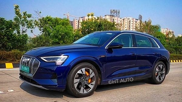 The upcoming Audi e-tron EV (HT Auto/Sabyasachi Dasgupta)