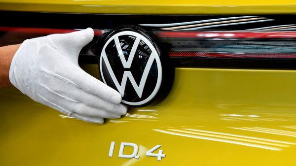 Volkswagen model ID.4 electric car. (File photo) (REUTERS)