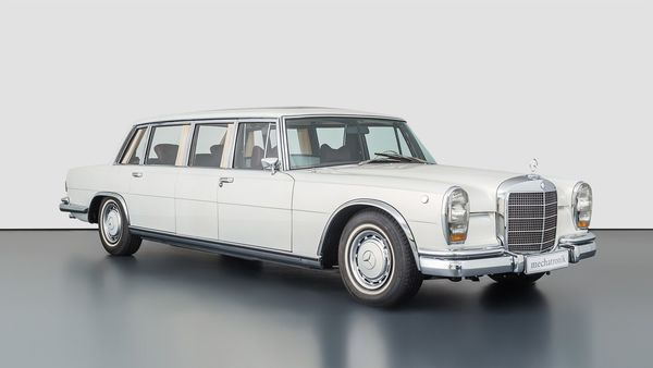A rare Mercedes-Benz Limousine is on sale at a price equivalent to 20 million euros