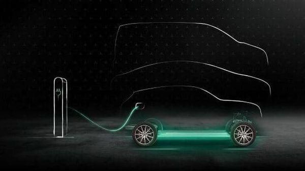 Representational photo of a Mercedes EV charging