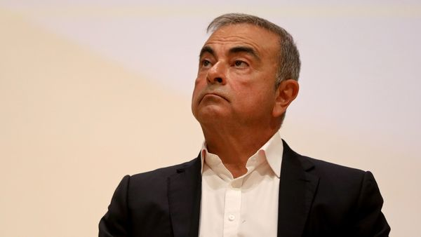 File photo of ex-Nissan boss Carlos Ghosn (REUTERS)