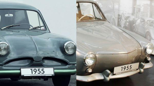 Volkswagen 1955 EA48 (L) and 1955/56 EA47-12