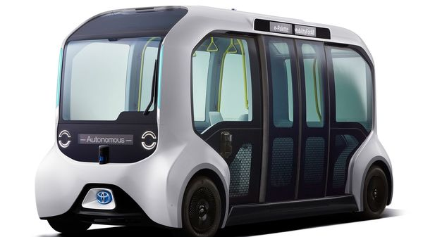 Toyota has offered a number of its cube-shaped e-palette electric autonomous vehicles, called the Tokyo 2020 Version of these, to support athlete mobility at the Tokyo Olympics and Paralympic Games this year.