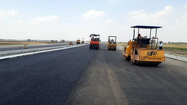The Delhi-Mumbai Expressway will end in time despite the Covid road being blocked: Gadkari