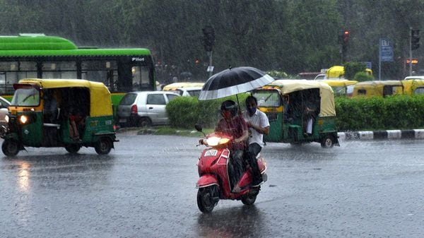 Tuesday's downpour has once again knocked out Delhi traffic