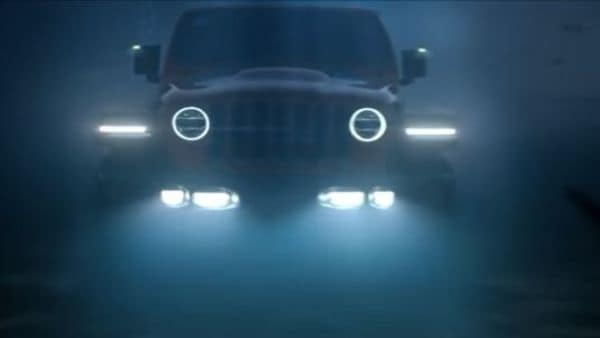 An electric Wrangler that can drive underwater?  Jeep ready to run wet and wild