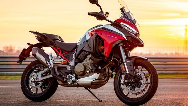 Ducati India has hinted that the Multistrada V4 will be made available in India only in limited numbers.