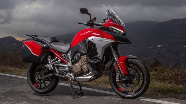 The new Ducati Multistrada V4 will be made available in India only in limited numbers. (Ducati)