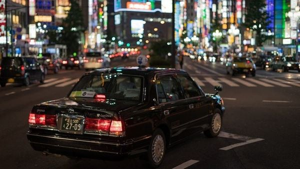 File photo of a street in Japan's capital city of Tokyo.