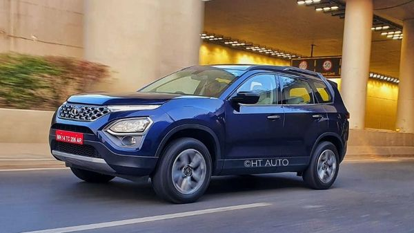 Tata Safari is a prominent three-row SUV offering from the Indian car maker.