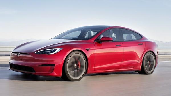 Tesla is holding back deliveries of its new Model S Plaid EV: Report